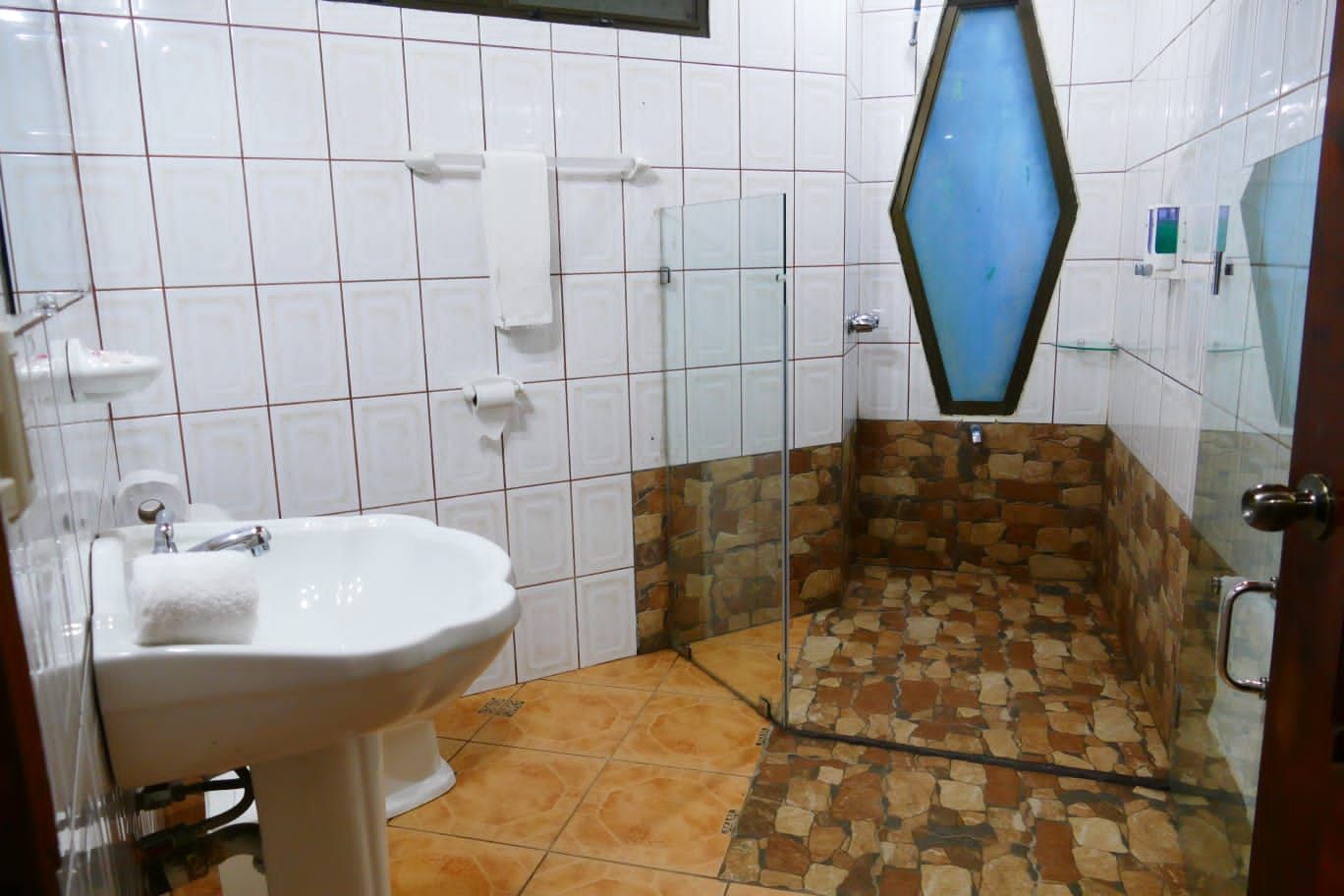 Bathroom with shower in the JS